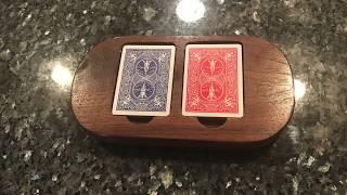 Custom Card Holder (Double Euchre Deck)