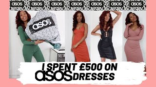 HUGE ASOS DRESSES HAUL | ASOS SPRING TRY ON HAUL