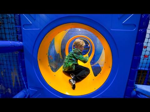 Playground Fun for Kids at Exploria Center Indoor Play Area