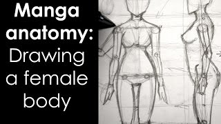 Manga anatomy: How To Draw Female Body FULL LESSON