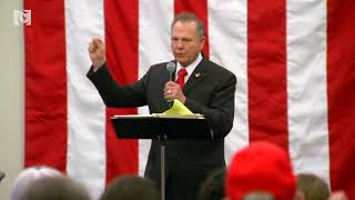 Last rally for Roy Moore before Alabama special elections thumbnail
