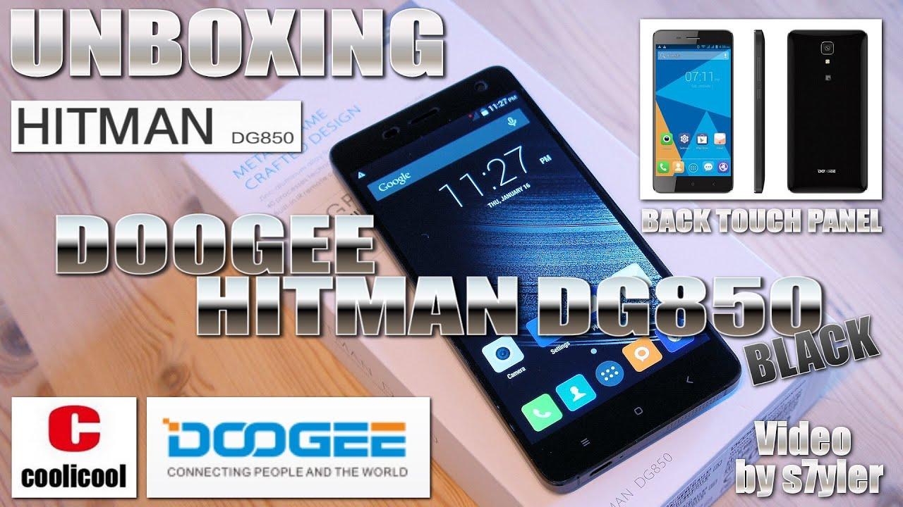 doogee hitman dg850 black unboxing 5 ips ogs hd. Black Bedroom Furniture Sets. Home Design Ideas