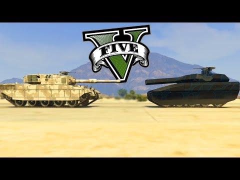 GTA V Online - NOVO TM-02 Vs RHINO! QUAL GANHA? (Golpe Do Juízo Final)