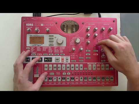 Korg Electribe ESX-1 Tutorial (Part 5) - Effects Section