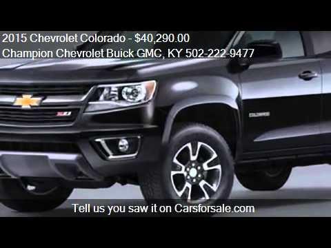 2015 Chevrolet Colorado For Sale In La Grange, KY 40031 At. Champion  Chevrolet Buick GMC