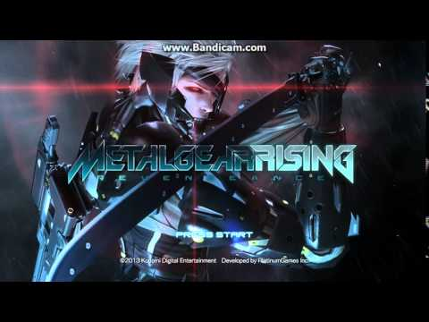 Raiden Saying: Metal Gear Rising: Revengeance