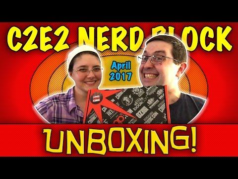 UNBOXING! C2E2 Nerd Block / Reed Pop Special Edition Block April 2017