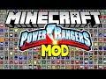 MOD POWER RANGERS ! - MORFADORES, MEGAZORD, NOVOS ITENS E MUITO MAIS NO MINECRAFT !