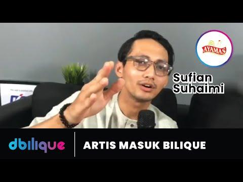 Sufian Suhaimi Bersanding dengan Gadis Misteri Artist Masuk Bilique