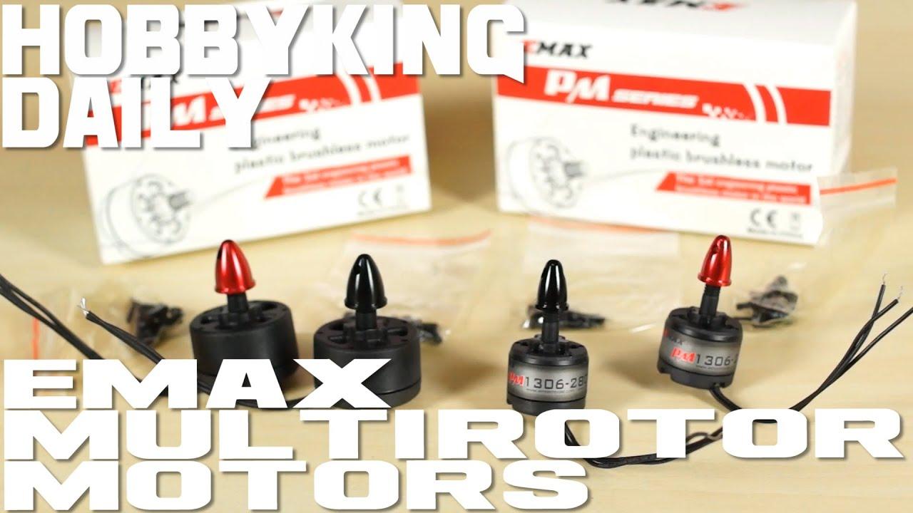 EMax Multi Rotor Plastic Motor - HobbyKing Daily