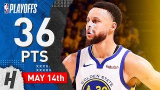 Stephen Curry Full Game 1 Highlights vs Trail Blazers 2019 NBA Playoffs WCF - 36 Pts, 7 Ast!