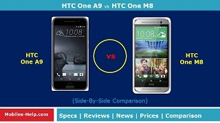 htc one a9 vs htc one m8 check the difference