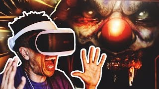 fighting killer clowns crazy pigs until dawn rush of blood 2 psvr