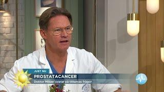 Hur blir sexlivet efter prostatacancern? - Nyhetsmorgon (TV4)