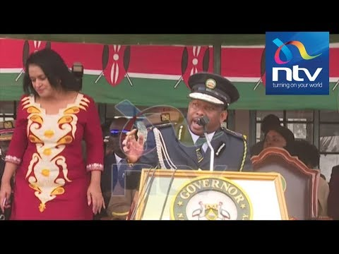 Esther Passaris storms out as Sonko bashes her in Madaraka Day speech