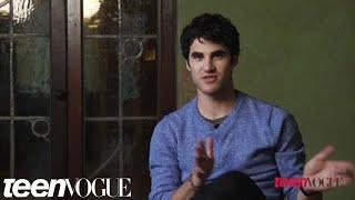 Darren Criss In Teen Vogue's February 2012 Issue