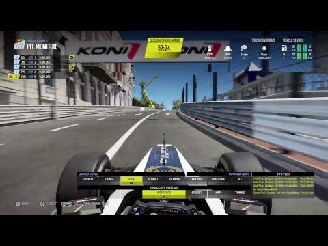 P1 - F1 - GP Monaco