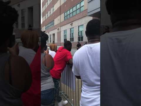 Protest for Vincent young at Harris county jail