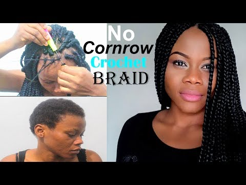 no-cornrow-crochet-braids-in-7-minutes|-crochet-box-braids-on-a-short-4c-hair|how-to-crochet-braid
