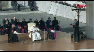 Audiencja Generalna Ojca Świętego Franciszka 14.11.2018