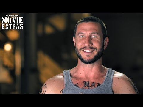 Den Of Thieves  Onset visit with Pablo Schreiber