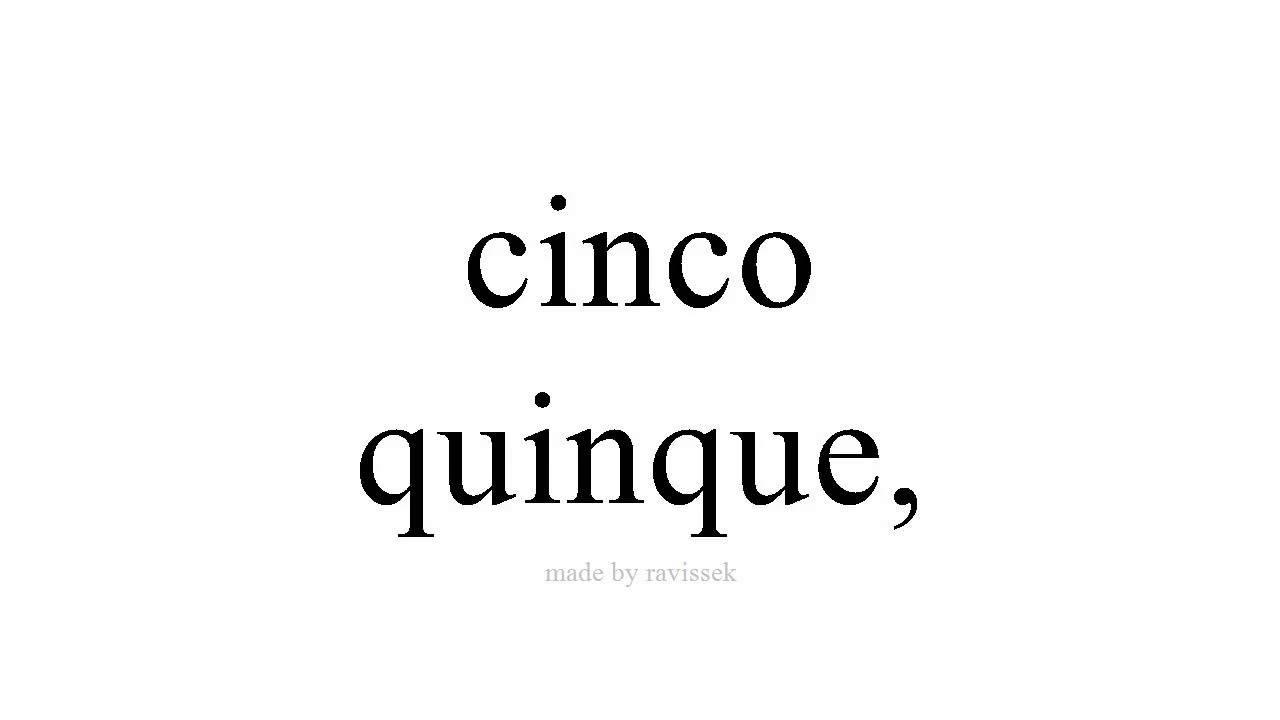 Quinque latin