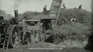 Working tractors and machinery video - Lincolnshire
