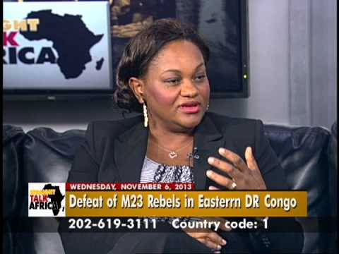 Straight Talk Africa Guest Nita Evele of Congo Global Action Coalition on Possibility of Peace