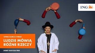 Kamil feat. Nosowska dla firmy Ludzie Mówią Różne Rzeczy | Dobry Głos Dla Firm | ING Bank Śląski