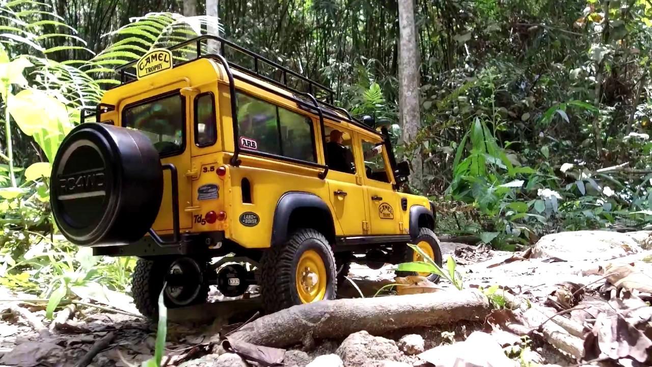 Land Rover Defender 110 Camel Trophy Adventure Youtube