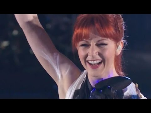 Lindsey Stirling & Lzzy Hale AGT America's Got Talent  Shatter Me 2014  Pre