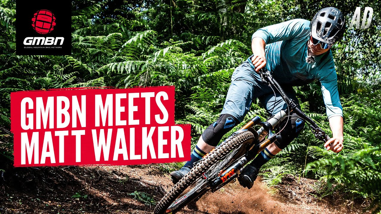What Does It Take To Be The Fastest DH Racer In The World? | GMBN Meets Matt Walker