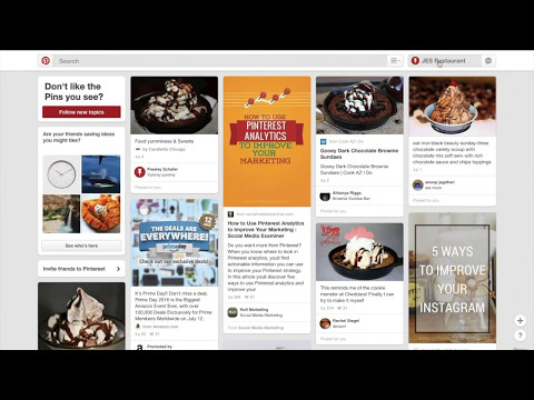 Social Market Pros Lesson #2: Connecting and Pinning Pinterest