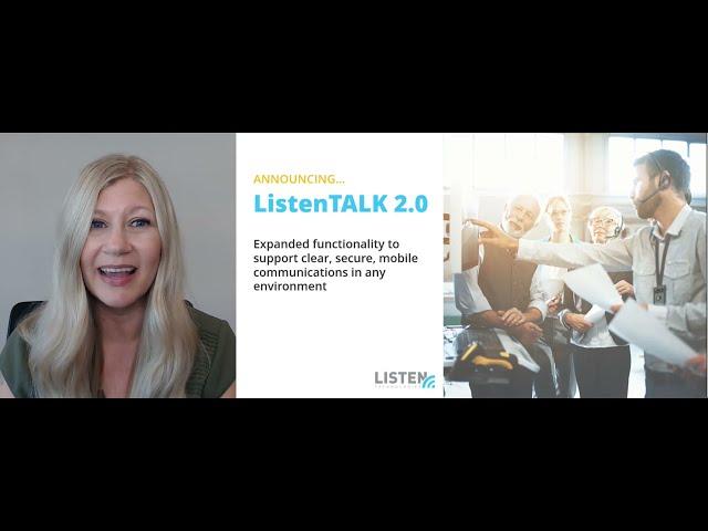 ListenTALK 2.0 Announcement