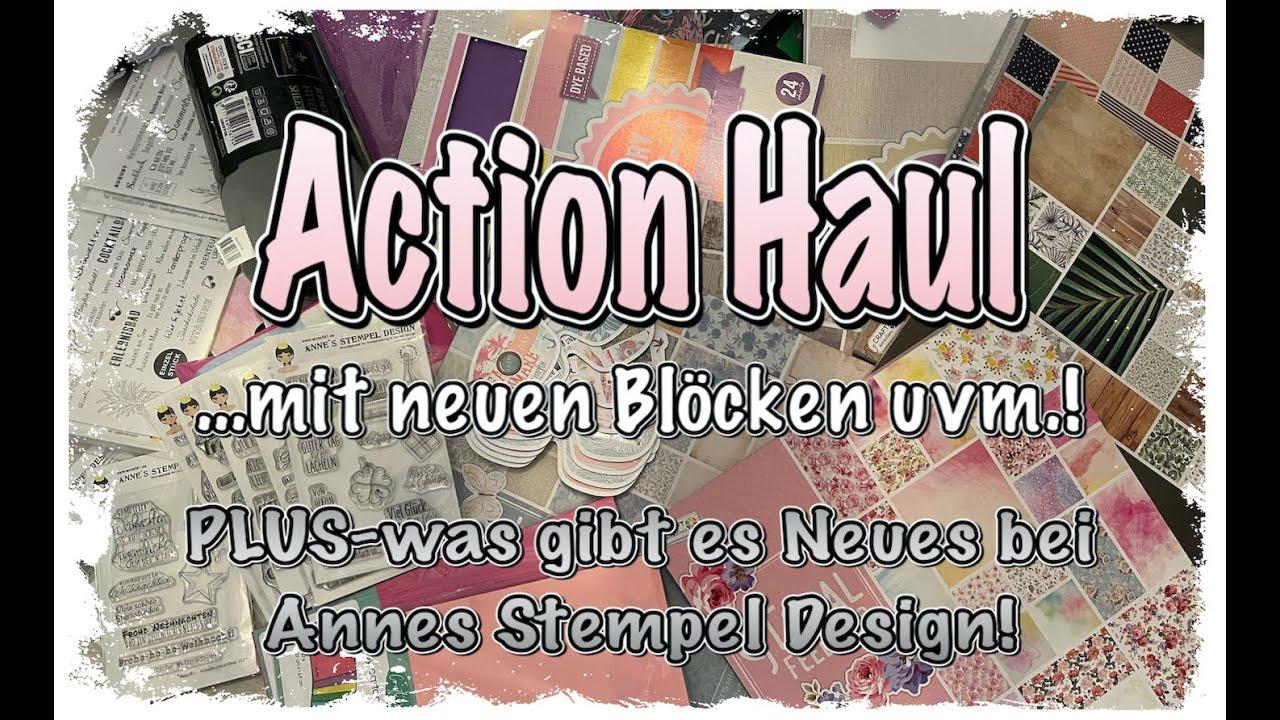 Action Haul (deutsch) neue Blöcke uvm., Neues von Annes Stempel Design, Craftupdate, Karten basteln
