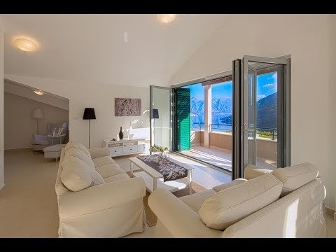 Penthouse for sale in Boka Bay - Property in Montenegro