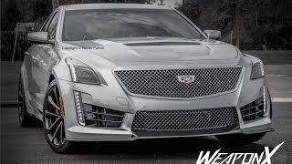 CADILLAC CTS-V 800HP On The Streets! 2019