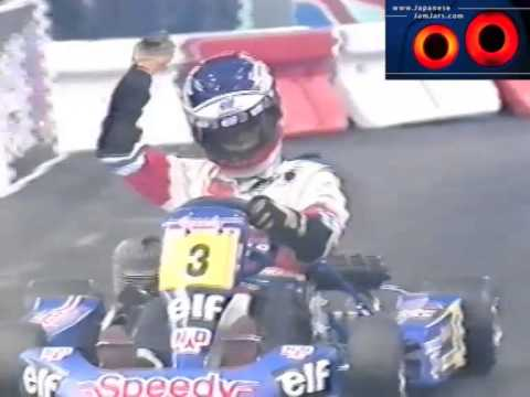 F1 Drivers Karting - Senna, Prost, Herbert, De-Cesaris, Martini, Panis