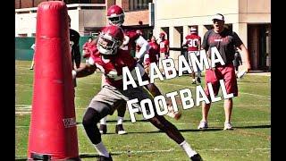 WATCH: Alabama Football Spring Practice
