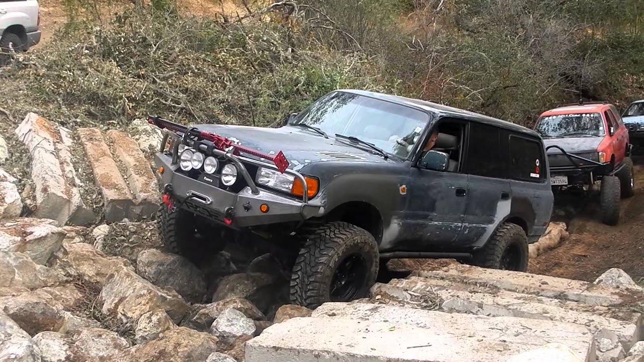 Jose S Fj80 Finishing The Jungle Trail Hollister Hills