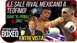 ¡Le sale rival mexicano a Teófimo! - Isaac Cruz