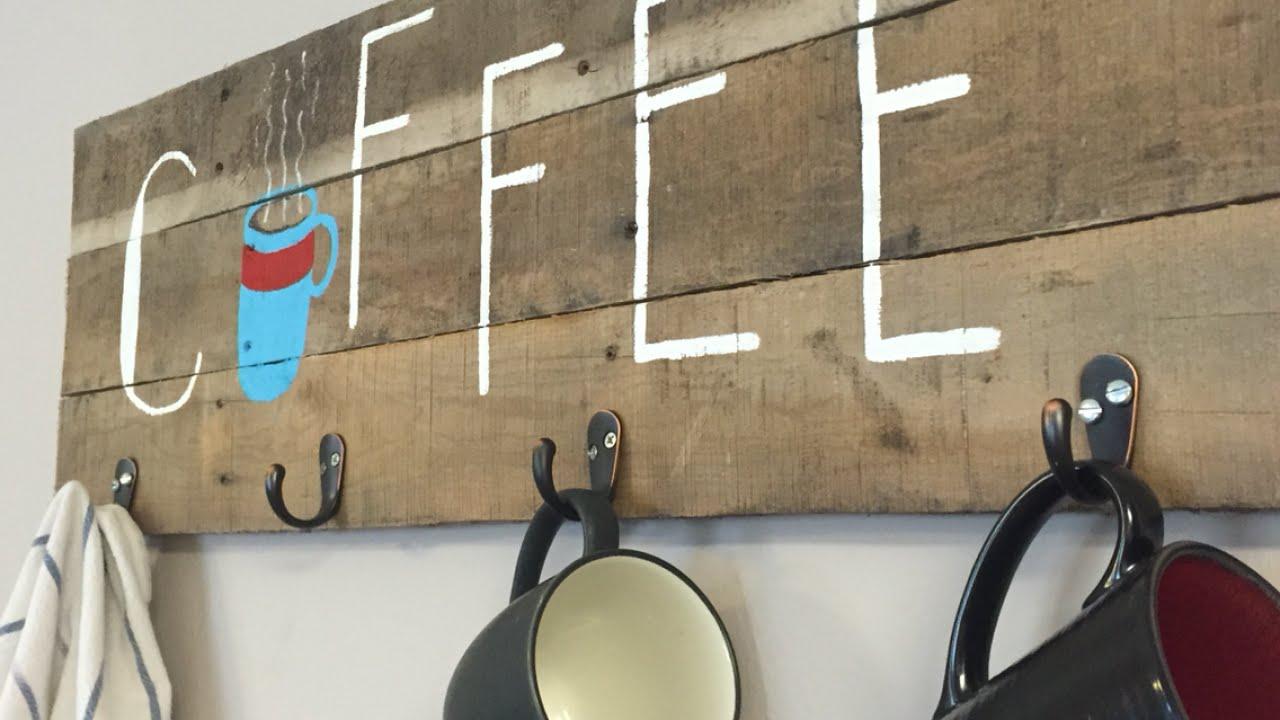 Coffee Cup Holder Mug Rack