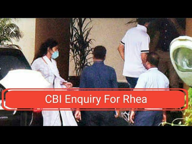 सीबीआय क़े जाच के बाद रिया चक्रवर्ती मुंबई पोलीस के दप्तर मे क्यू?