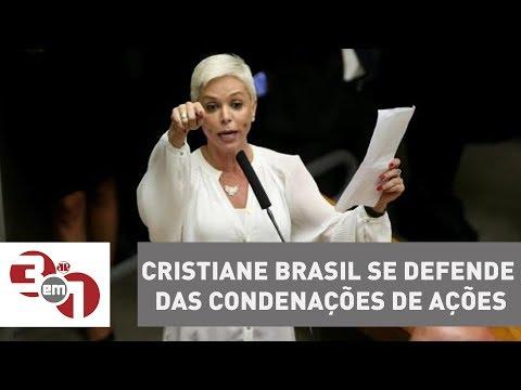 Em vídeo, Cristiane Brasil se defende das condenações de ações
