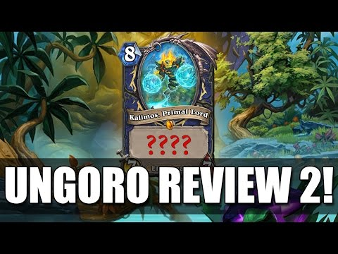 Journey To Un'Goro Card Review Part 2 - The best designed card in hearthstone?