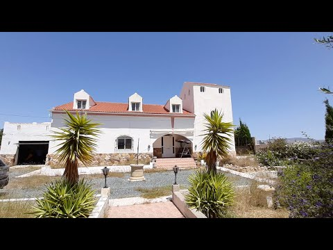 SOLD! Spanish Property Choice Video Property Tour - Villa A1000 Albox, Almeria 188,000€