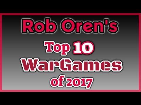 Rob's Top Ten Wargames of 2017