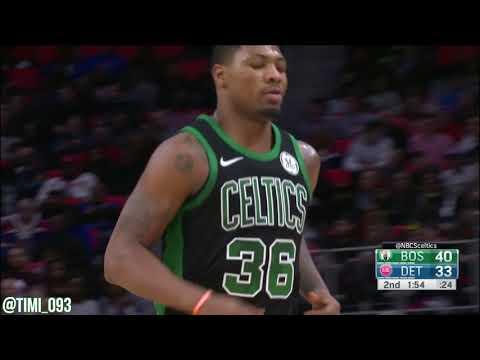 Marcus Smart Highlights vs Detroit Pistons (12 pts, 3 ast)