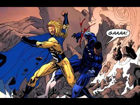 Blue Marvel Vs Sentry The Avengers Youtube