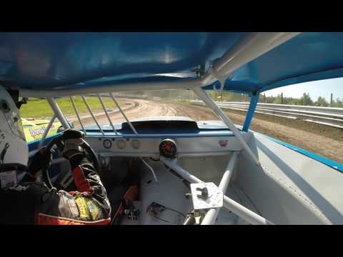 Thunderbird Speedway   Street Stock Heat 6/11/16   GoPro In-Car Camera #23H